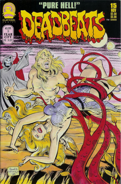 Cover for Deadbeats (Claypool Comics, 1993 series) #15