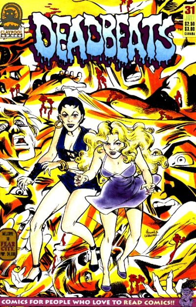 Cover for Deadbeats (1993 series) #31