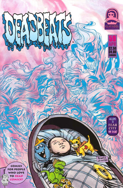 Cover for Deadbeats (1993 series) #59
