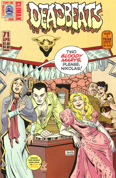 Cover for Deadbeats (Claypool Comics, 1993 series) #71