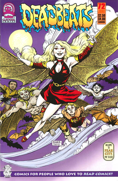 Cover for Deadbeats (1993 series) #72