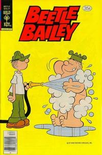 Cover for Beetle Bailey (Western, 1978 series) #124 [Gold Key]