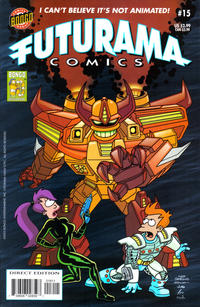 Cover Thumbnail for Bongo Comics Presents Futurama Comics (Bongo, 2000 series) #15