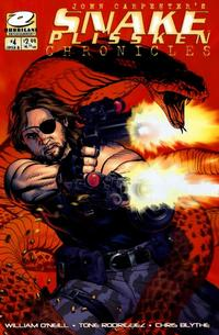 Cover Thumbnail for John Carpenter's Snake Plissken Chronicles (CrossGen, 2003 series) #4