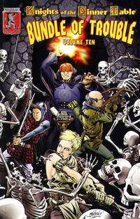 Cover Thumbnail for Knights of the Dinner Table: Bundle of Trouble (Kenzer and Company, 1998 series) #10