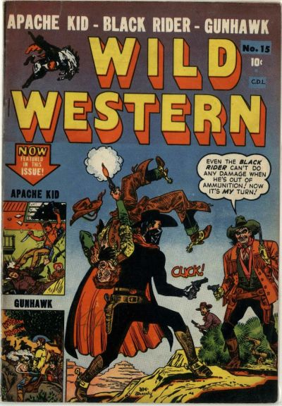 Cover for Wild Western (1948 series) #15