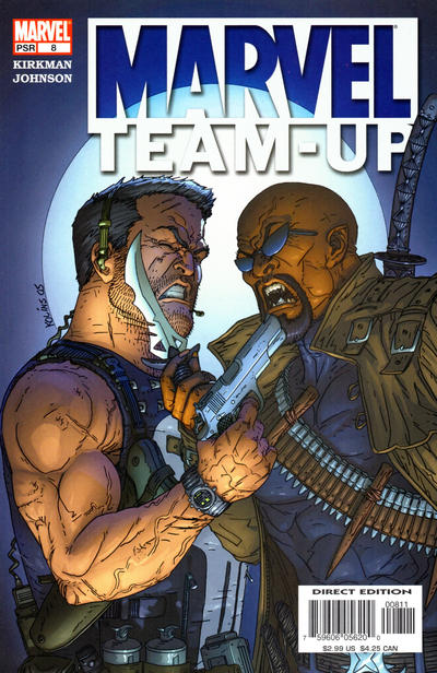 Cover for Marvel Team-Up (Marvel, 2005 series) #8