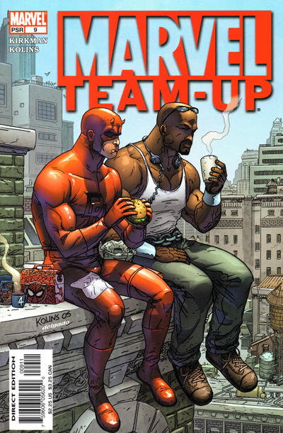 Cover for Marvel Team-Up (Marvel, 2005 series) #9