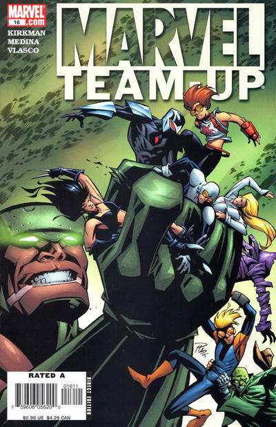 Cover for Marvel Team-Up (Marvel, 2005 series) #16