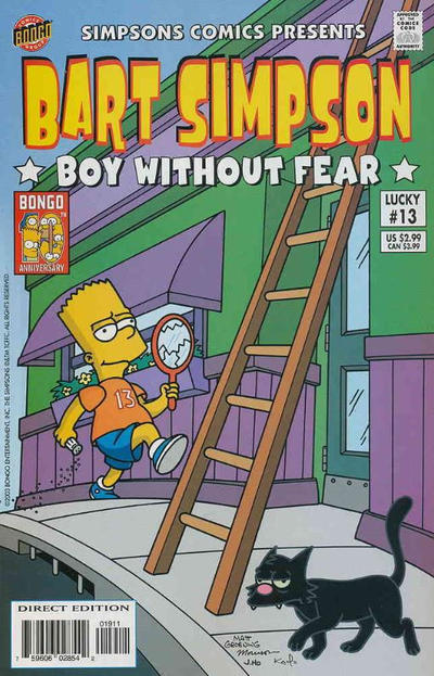 Cover for Simpsons Comics Presents Bart Simpson (Bongo, 2000 series) #13 [Direct Edition]