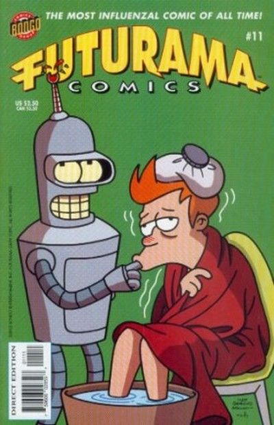 Cover for Bongo Comics Presents Futurama Comics (Bongo, 2000 series) #11