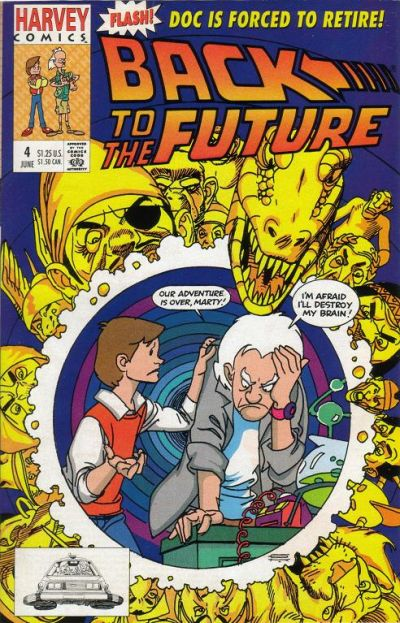Cover for Back to the Future (Harvey, 1991 series) #4