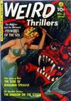 Cover for Weird Thrillers (Ziff-Davis, 1951 series) #3