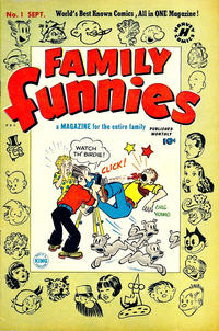 Cover Thumbnail for Family Funnies (Harvey, 1950 series) #1