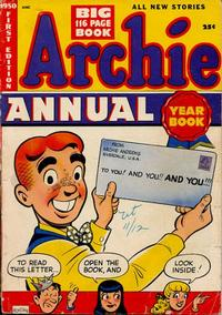 Cover for Archie Annual (1950 series) #1