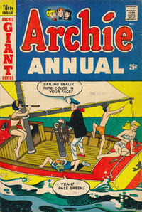 Cover Thumbnail for Archie Annual (Archie, 1950 series) #18