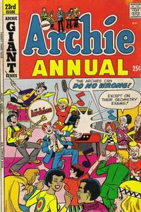 Cover Thumbnail for Archie Annual (Archie, 1950 series) #23