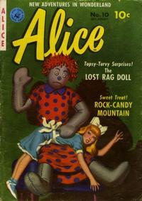 Cover Thumbnail for Alice (Ziff-Davis, 1951 series) #10