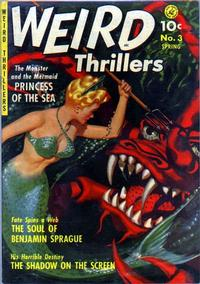 Cover Thumbnail for Weird Thrillers (Ziff-Davis, 1951 series) #3