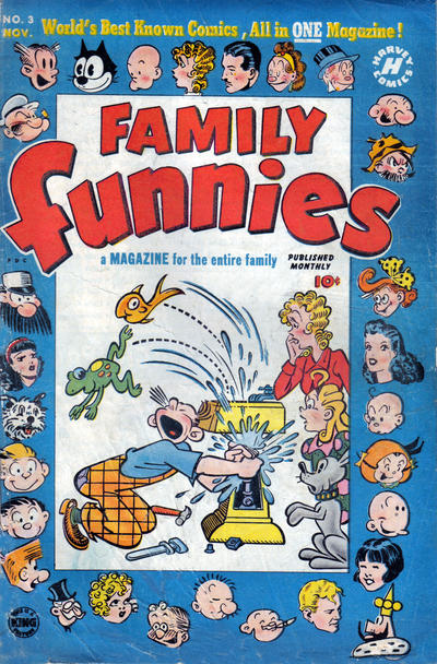 Cover for Family Funnies (Harvey, 1950 series) #3