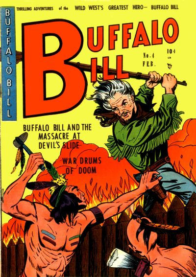 Cover for Buffalo Bill (Youthful, 1950 series) #4