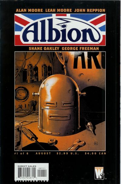 Cover for Albion (2005 series) #1