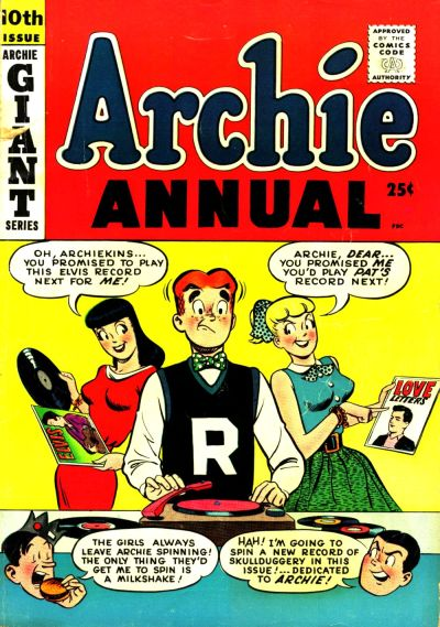 Cover for Archie Annual (Archie, 1950 series) #10