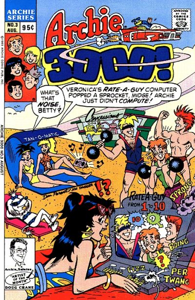 Cover for Archie 3000 (1989 series) #3