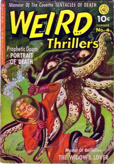 Cover for Weird Thrillers (Ziff-Davis, 1951 series) #4