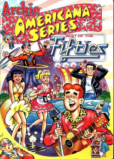 Cover for Archie Americana Series (Archie, 1991 series) #2 - Best of the Fifties