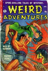 Cover Thumbnail for Weird Adventures (P.L. Publishing, 1951 series) #2