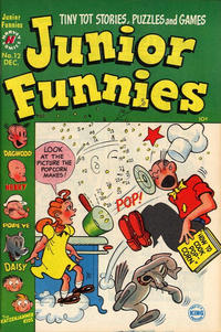 Cover for Junior Funnies (Harvey, 1951 series) #12