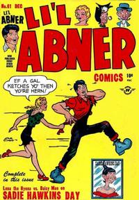 Cover Thumbnail for Li'l Abner Comics (Harvey, 1947 series) #61