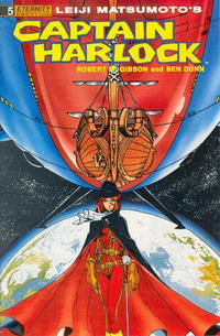 Cover Thumbnail for Captain Harlock (Malibu, 1989 series) #5