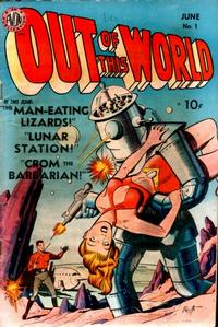 Cover Thumbnail for Out of This World (Avon, 1950 series) #1