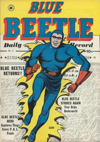 Cover Thumbnail for Blue Beetle (Superior Publishers Limited, 1950 series) #5 [58]