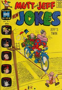 Cover Thumbnail for Mutt & Jeff New Jokes (Harvey, 1963 series) #4