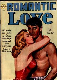 Cover Thumbnail for Romantic Love (Avon, 1949 series) #10
