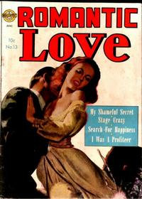 Cover Thumbnail for Romantic Love (Avon, 1949 series) #13