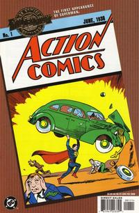 Cover for Millennium Edition: Action Comics 1 (2000 series) #[nn]