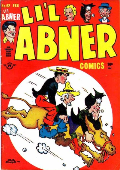 Cover for Li'l Abner Comics (Harvey, 1947 series) #62