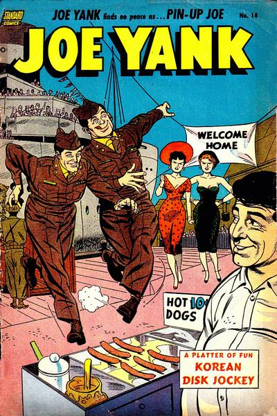 Cover for Joe Yank (1952 series) #14