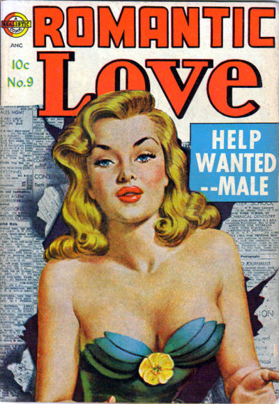 Cover for Romantic Love (1949 series) #9