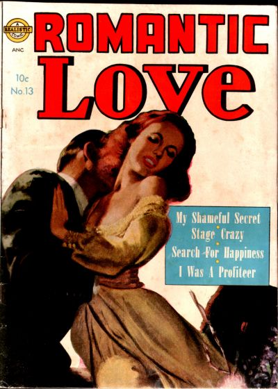 Cover for Romantic Love (Avon, 1949 series) #13