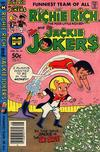 Cover for Richie Rich & Jackie Jokers (Harvey, 1973 series) #44