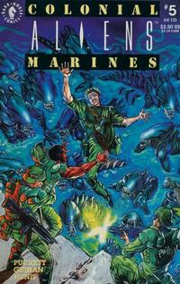 Cover Thumbnail for Aliens: Colonial Marines (Dark Horse, 1993 series) #5