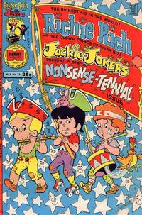 Cover Thumbnail for Richie Rich & Jackie Jokers (Harvey, 1973 series) #15
