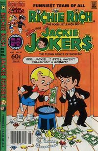 Cover Thumbnail for Richie Rich & Jackie Jokers (Harvey, 1973 series) #47
