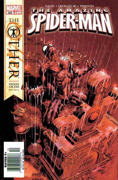 Cover for The Amazing Spider-Man (1999 series) #525