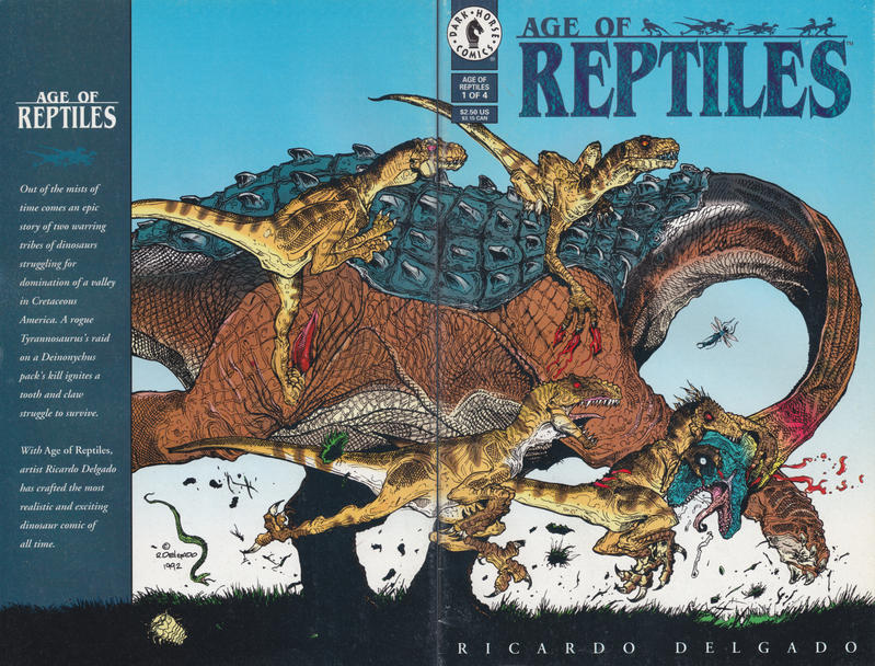 Cover for Age of Reptiles (Dark Horse, 1993 series) #1